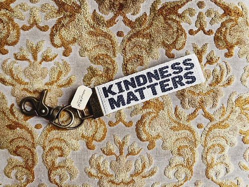 Natural Life Keyfob - Kindness Matters