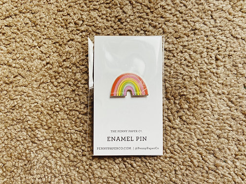 Enamel Pin - Rainbow