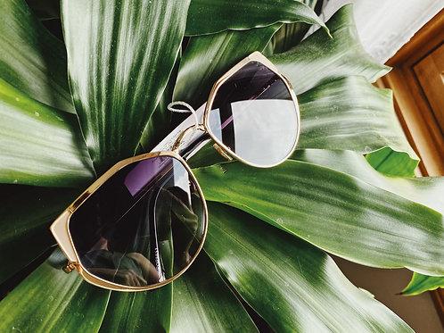 Sunglasses - Gold/Purple