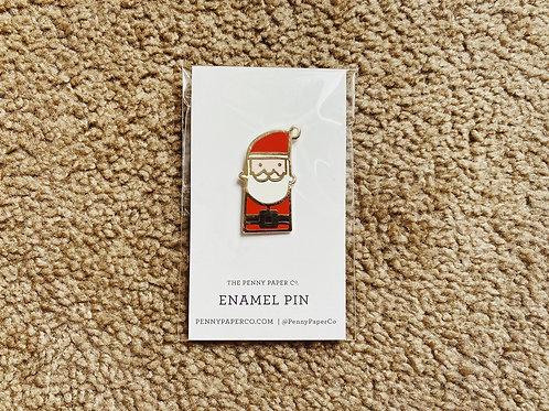 Enamel Pin - Santa