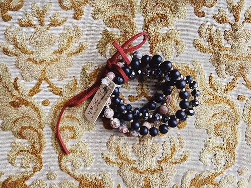 Cluster Bracelet - Black
