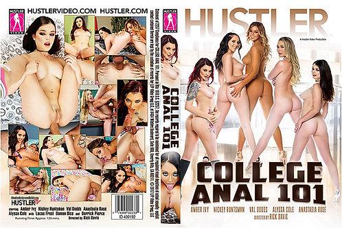 """Signed """"College Anal 101"""" HUSTLER DVD"""