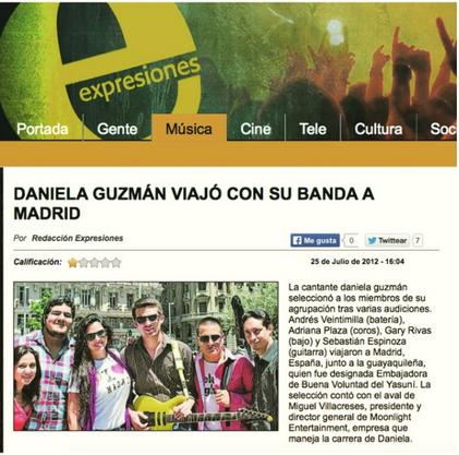DANIELA GUZMAN - ESPANA