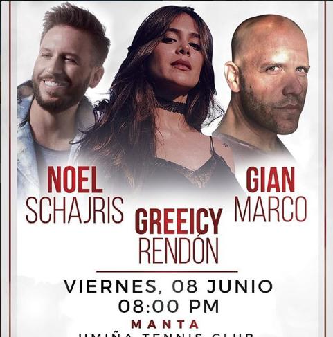 Greeicy Rendon - Noel Schajris - Gian Marco