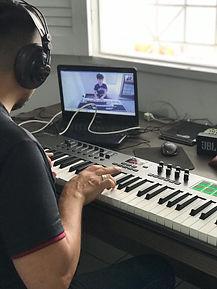 aula de música online