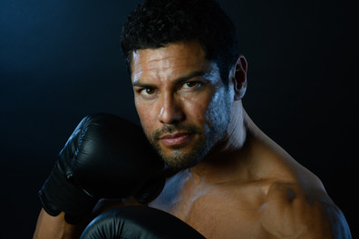 Fashion Photography / Portraits / Photo Session by Silvia Pangaro, Los Angeles. Sport, male fitness model