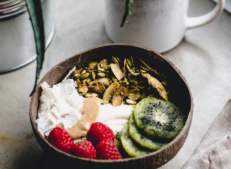 Matcha & Coconut Granola (Vegan)