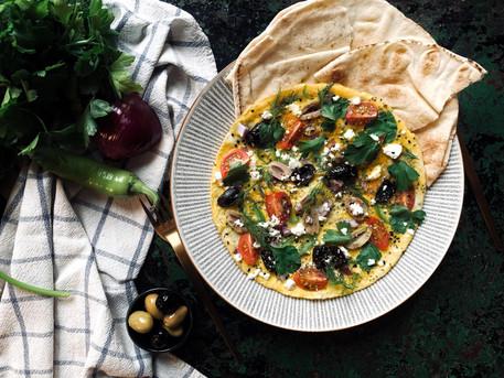 Easy Mediterranean Omelette