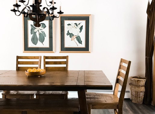 I'd Choose My Dining Room Over a Restaurant Any Day