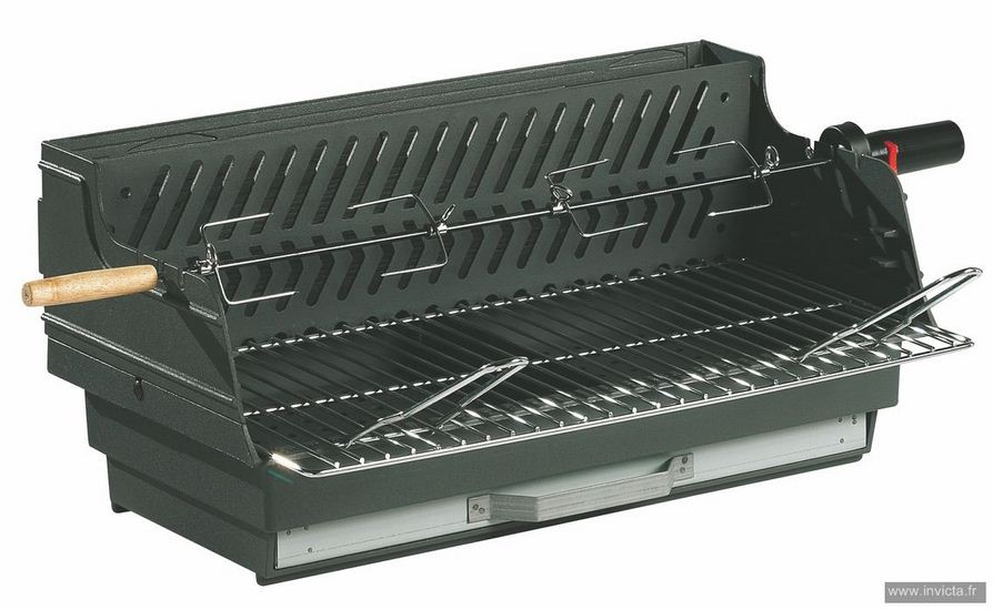 Built-In Charcoal BBQ Louqsor