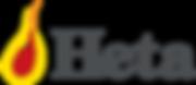 heta denmark woodburning stoves logo