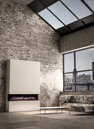 ilektro 2m electric fireplace