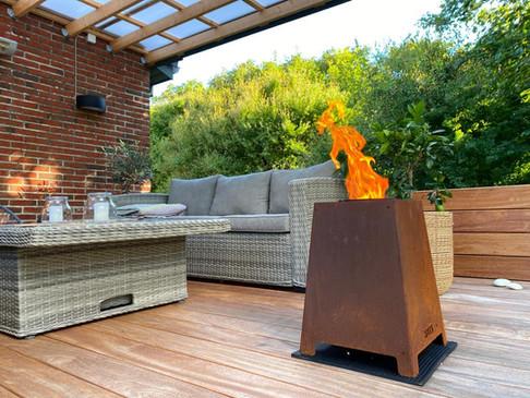 Heta QUAD outdoor burner
