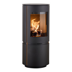 Scanline 8 cast iron with gold trim