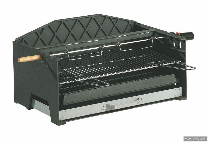 Built-In Charcoal BBQ Alexandrie