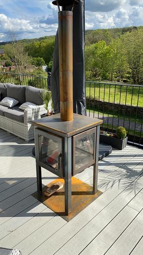 Pevex 900mm 4 sided Garden stoves