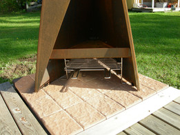 Tipi Grill available for the 1470mm model