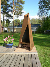 Tipi add a lovely rustic charm to your garden setting