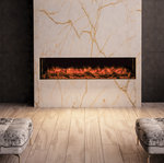 Ilektro 2m electric fireplace
