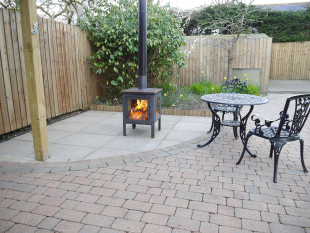 The Pevex outdoor stove