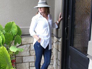 Transitioning Our Summer Clothes to Fall