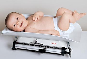 Ganancia de Peso en Bebés Amamantados