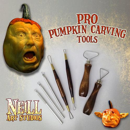 Jon Neill's  DELUXE Pro Pumpkin Carving Tool set