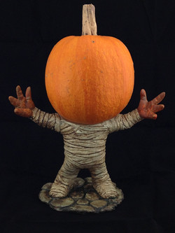 Jon Neill's Pumpkin pedestal