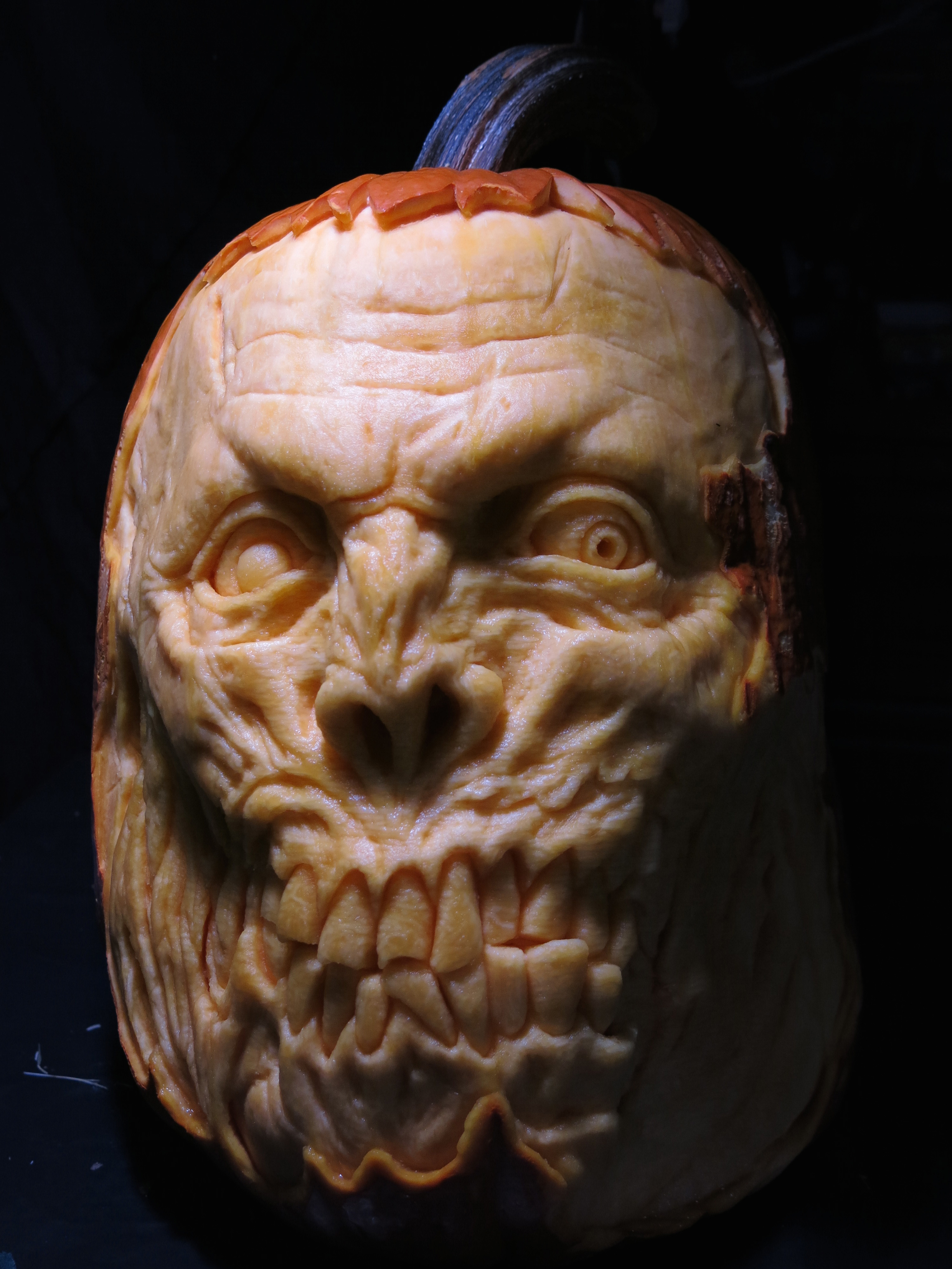 The Walking Dead Pumpkin Carving
