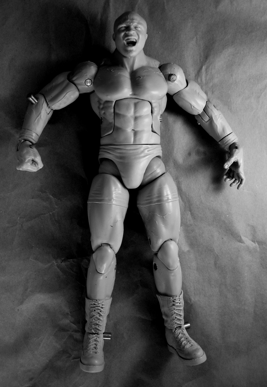"""12"""" Bobby Lashley Prototype figure"""