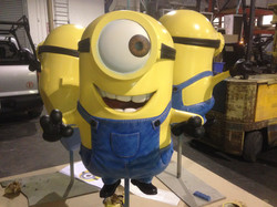 Minion Mayhem 2' Sculptures