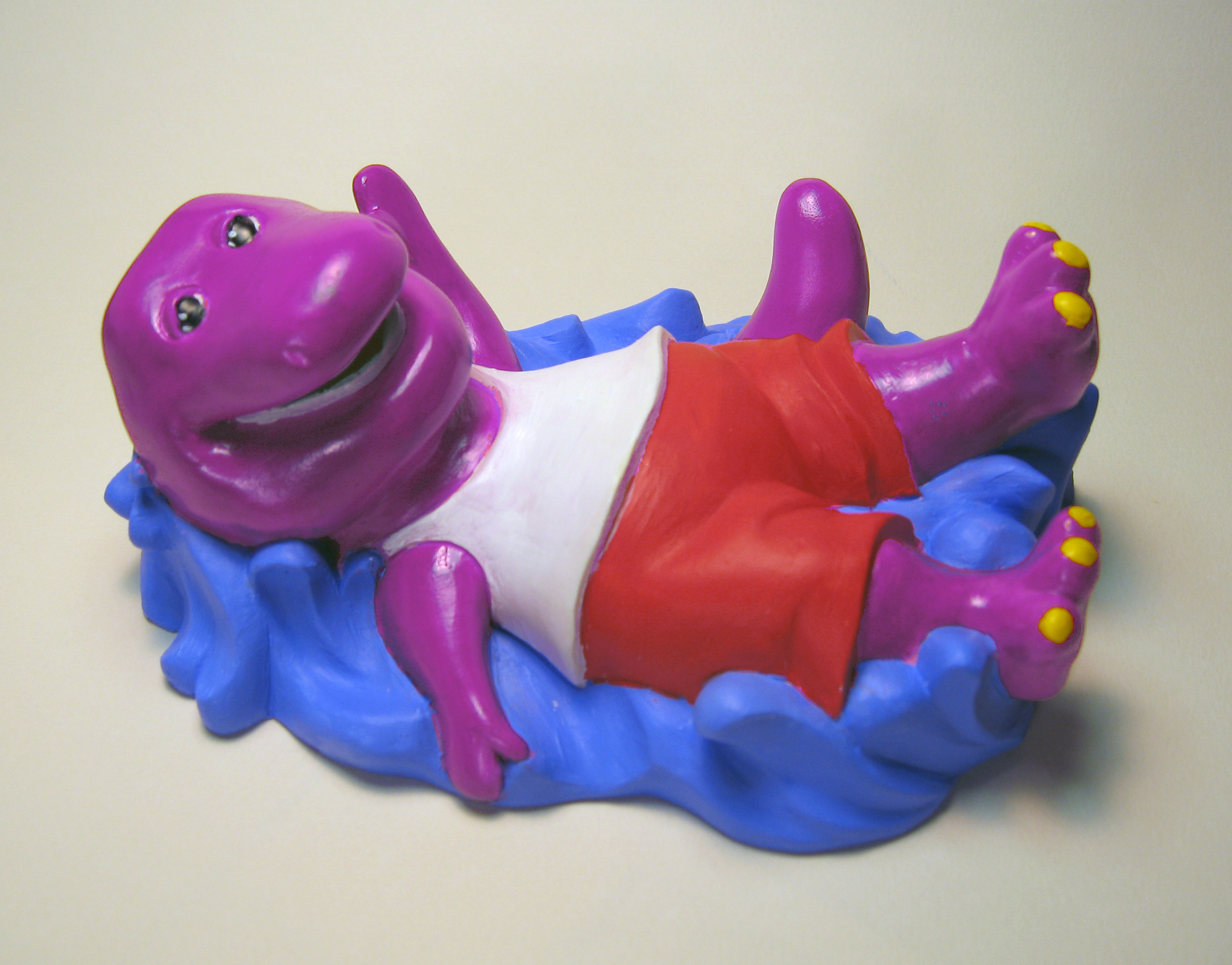 Barney float - Jakks Pacific