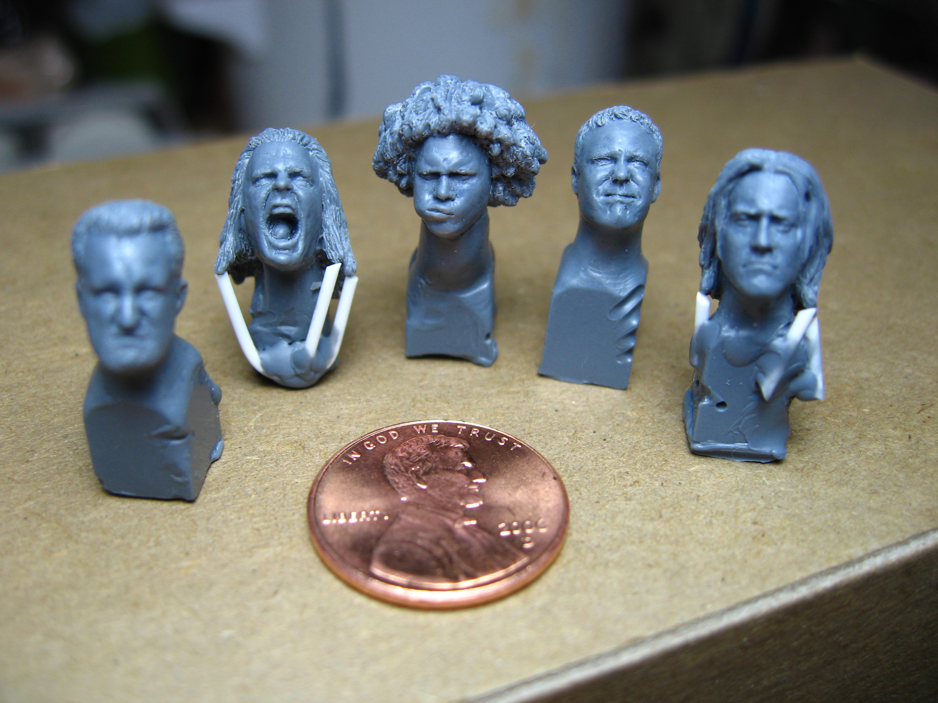 WWE Micro Aggression heads