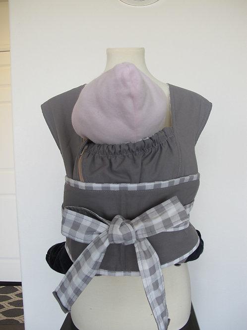 Obi cross-style Grey& Checker