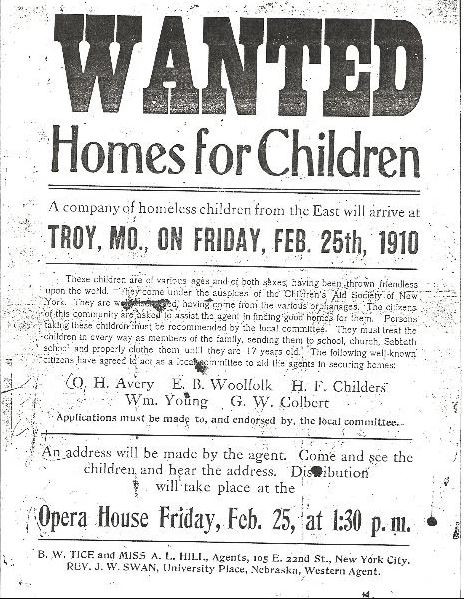 Orphans in the 1880's: Adopted or Enslaved?