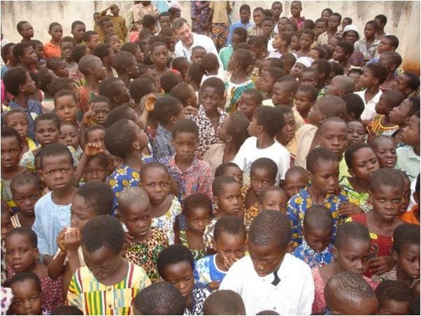 Orphaned kids build new lives in Sierra Leone