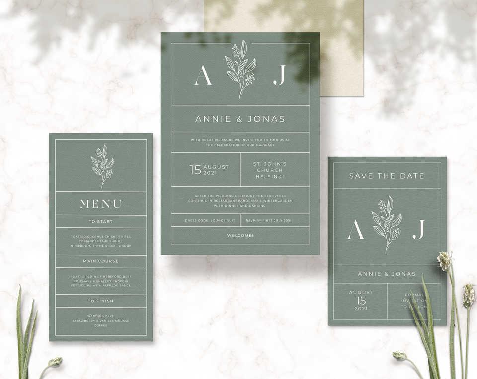 A&J Invitation
