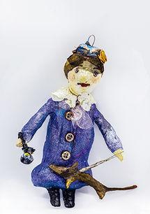 Ватные игрушки на ёлку С-нова Нина