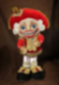 Щелкунчик Авторская кукла ручной работы Снова Нина