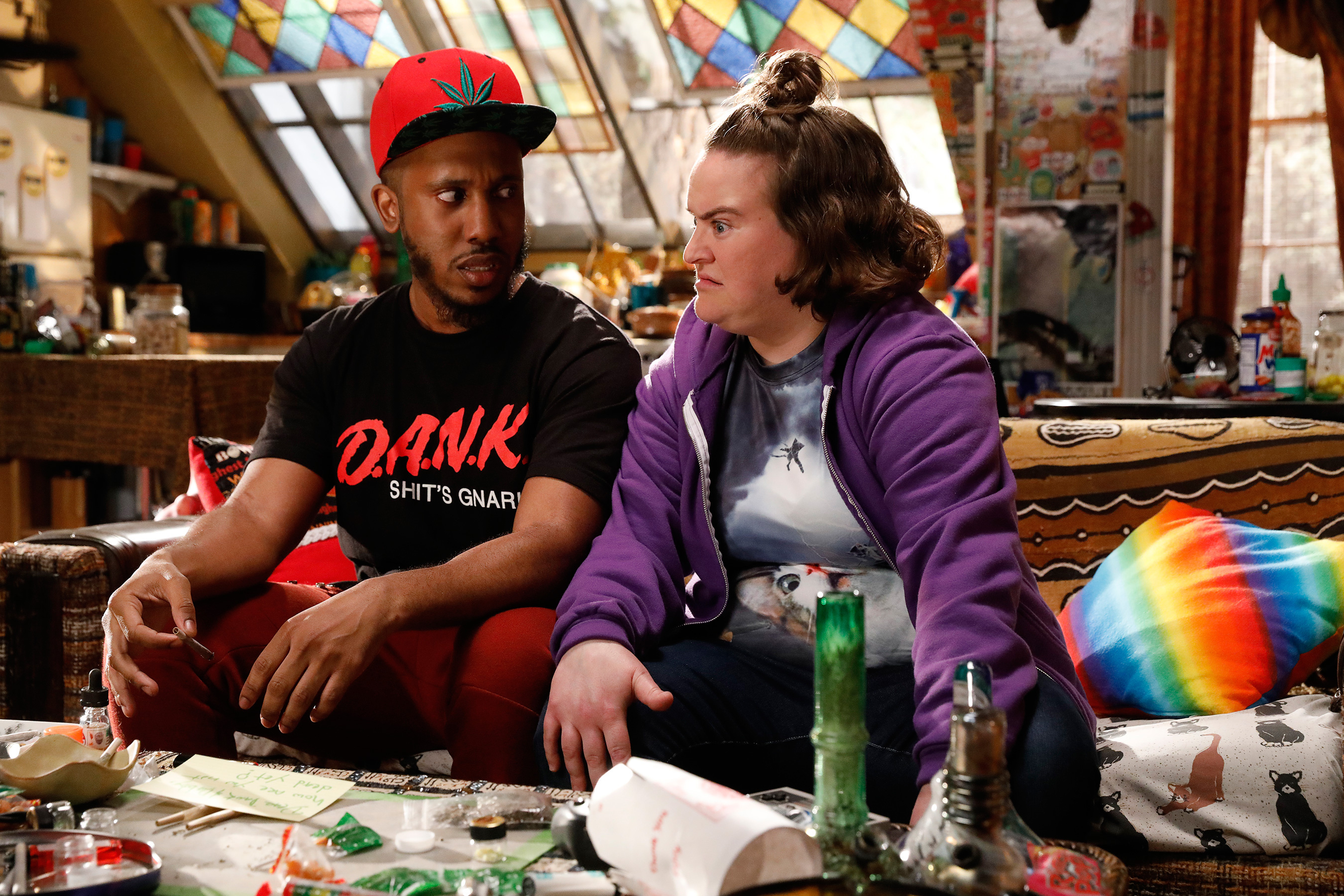 Image result for disjointed dank and dabby