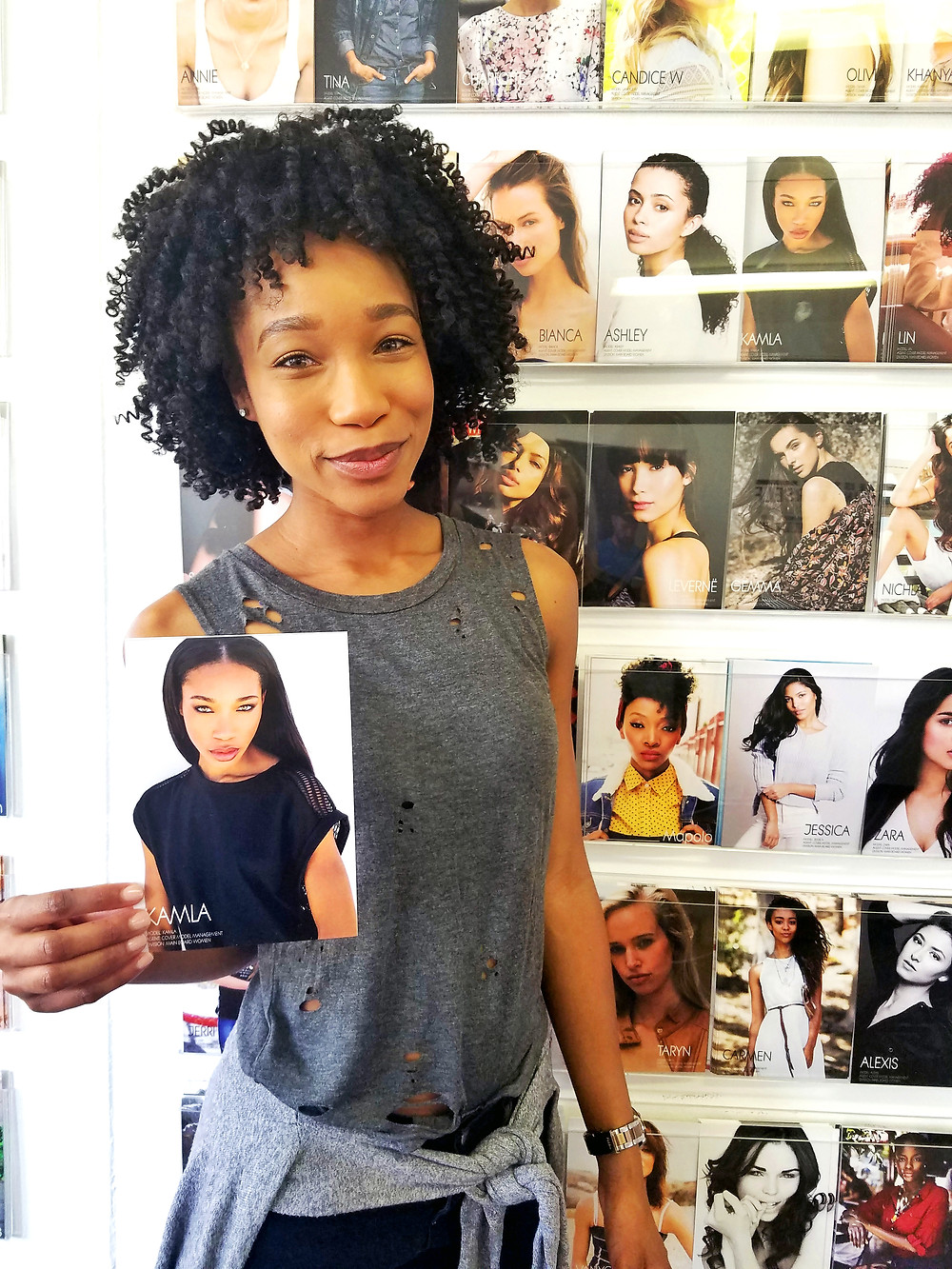 Kamla-Kay. Cover Model Management. South Africa
