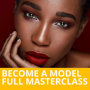 how to become a model masterclass-kamlak