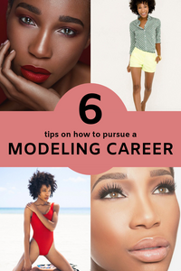 Get 6 tips on how to best pursue your modeling career. Kamla-Kay give you detailed tips based on her personal modeling experiences that you can implement now to help your career