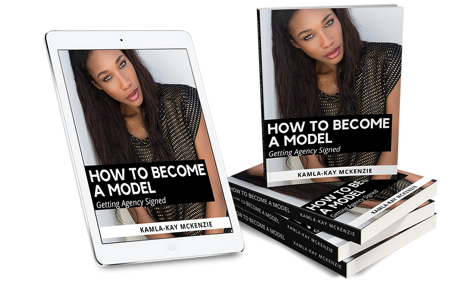How to Becom a Model-EBook Collage-Kamla