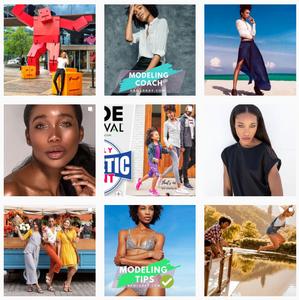 Photos of model Kamla-Kay on IG