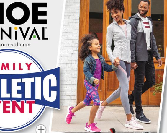 Model & modeling Coach Kamla-Kay for Shoe Carnival ad