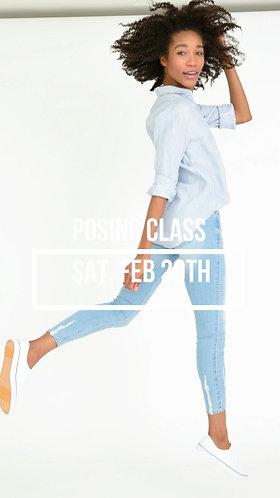 GROUP CLASS:Posing Techniques