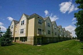 Maple Trails Apartments outdoor lawn space