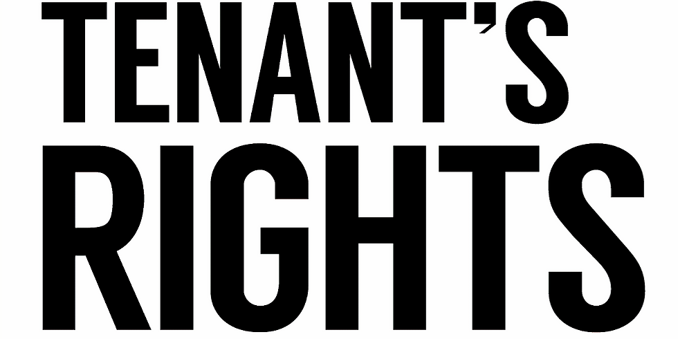 Tenant's Rights Workshop