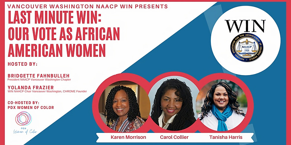 Last Minute WIN: Our Vote as African American Women